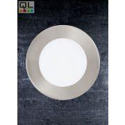 FUEVA 1 LED Süllyesztet 5,5W mattnikkel 12cm 4000K 95467