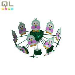EGLO mennyezeti lámpa VIKI 2 Gyermek zöld E27 95636