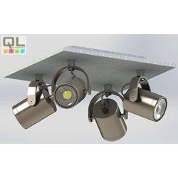 PRACETA Mennyezeti lámpa nikkel 95744