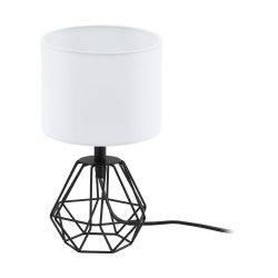 CARLTON 2 Asztali lámpa fekete 95789
