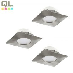PINEDA 3db/csomag Süllyesztett, beépíthető lámpa nikkel 95803