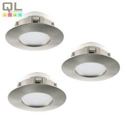 PINEDA 3db/csomag Süllyesztett, beépíthető lámpa nikkel 95809