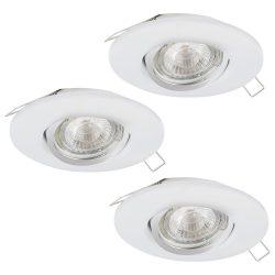 PENETO 1 Süllyesztett, beépíthető lámpa fehér 95895