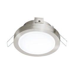 PINEDA 1 Süllyesztett, beépíthető lámpa nikkel 95918