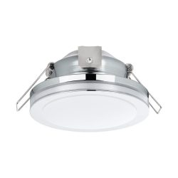 PINEDA 1 Süllyesztett, beépíthető lámpa króm 95962