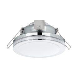 EGLO PINEDA 1 Süllyesztett, beépíthető lámpa króm 95962