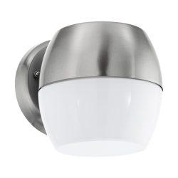 Oncala Kültéri fali lámpa acél LED 95982