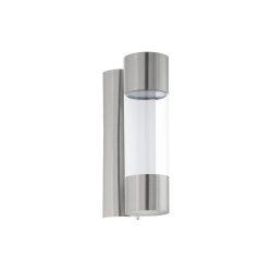 Robledo Kültéri fali lámpa acél LED 96013