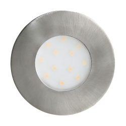 Pineda-IP Kültéri süllyesztett, beépíthető lámpa nikkel LED 96415