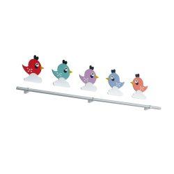 EGLO gyermeklámpa SPARINO Fali lámpa fehér LED 96707