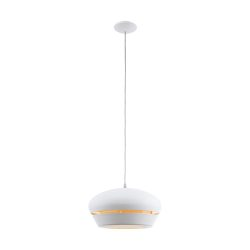FOSALBA Függeszték fehér E27 egyéni fényhatás 96888