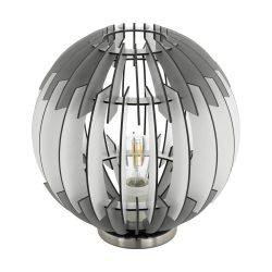 OLMERO Asztali lámpa nikkel E27 96975
