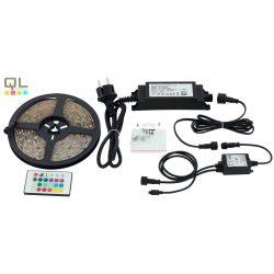 LED STRIPES-FLEX LED szalag LED-RGBW távkapcsolható 97931