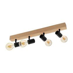 EGLO TOWNSHEND 3 spot lámpa 4X60W E27 98114