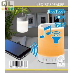 SOUND asztali dekor lámpa RGB LED BLUETOOTH MP3 fehér 722040