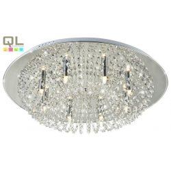 ESTO mennyezeti lámpa KRISTALL kristály üveg G9 8x42W 600mm 998070-8