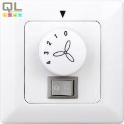 WALL CONTROL 0392 fali ventilátor kapcsoló, szabályzó