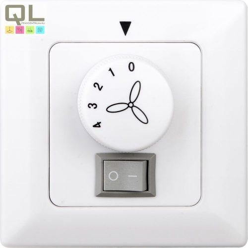 WALL CONTROL 0392 fali ventilátor kapcsoló, szabályzó      !!! kifutott termék, már nem rendelhető !!!