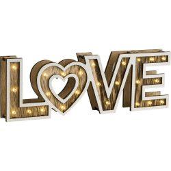 GLOBO LOVE Asztali lámpa 24X LED 0,06W 29976