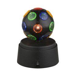 GLOBO DISCO Asztali lámpa 1X LED 0,06W 28017