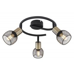 GLOBO FIASTRA Spot lámpa 3X E14 40W 54028-3