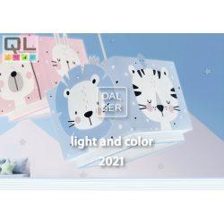 DALBER 2021 gyereklámpa katalógus