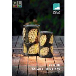 EGLO Solar, napelemes, napenergiás katalógus 2018