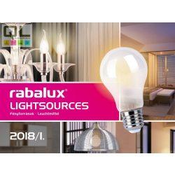 Rábalux Fényforrás katalógus 2018