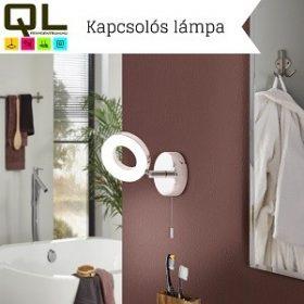 Kapcsolós fali lámpa