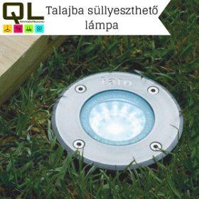 Talajba süllyeszthető lámpa
