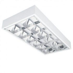 Tükrös, T8 fénycsöves lámpatest